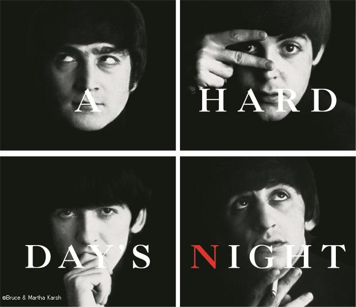 ビートルズ初主演映画『A Hard Day's Night』上映会