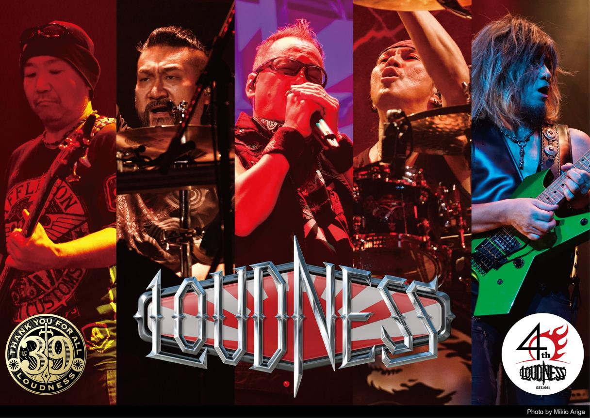 LOUDNESS│THANK YOU FOR ALL